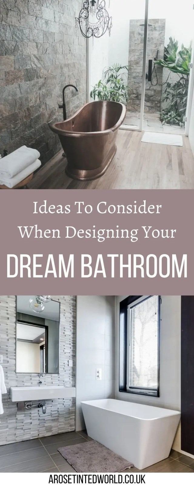 Things to Consider When Getting A New Bathroom - choosing how to remodel or renovate a bathroom can be a large decision fraught with pitfalls. Here are some good ideas for how to design and plan your dream bathroom space. #bathroom #bathroomdesign #bathroomideas #bathroomremodel #bathroomdecor #bathroomcabinets #bathroomorganization #bathroomrenovation #bathroomrenovationideas #bathroominspiration