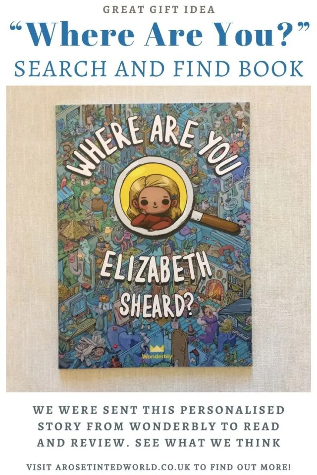 "Wonderbly ""Where Are You?"" Book - we were sent this search and find book from Wonderbly to read and review. See what we thought, and win one for yourself!"
