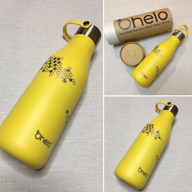 Ohelo Yellow Bee Water Bottle