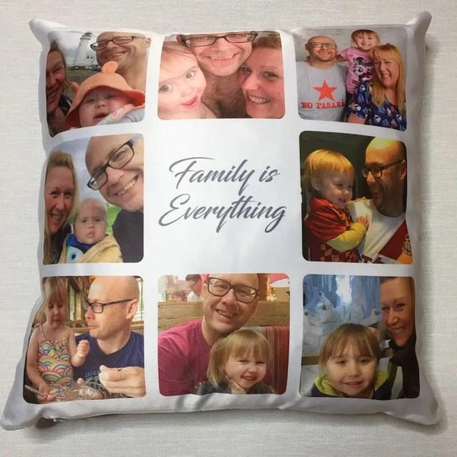 Personalised Gifts Market Cushion