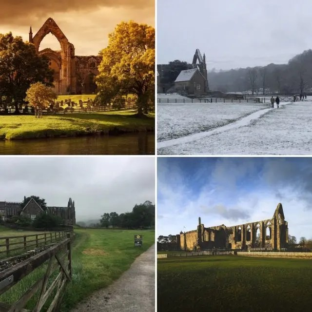 Whatever the weather - Bolton Abbey is a lovely place to visit