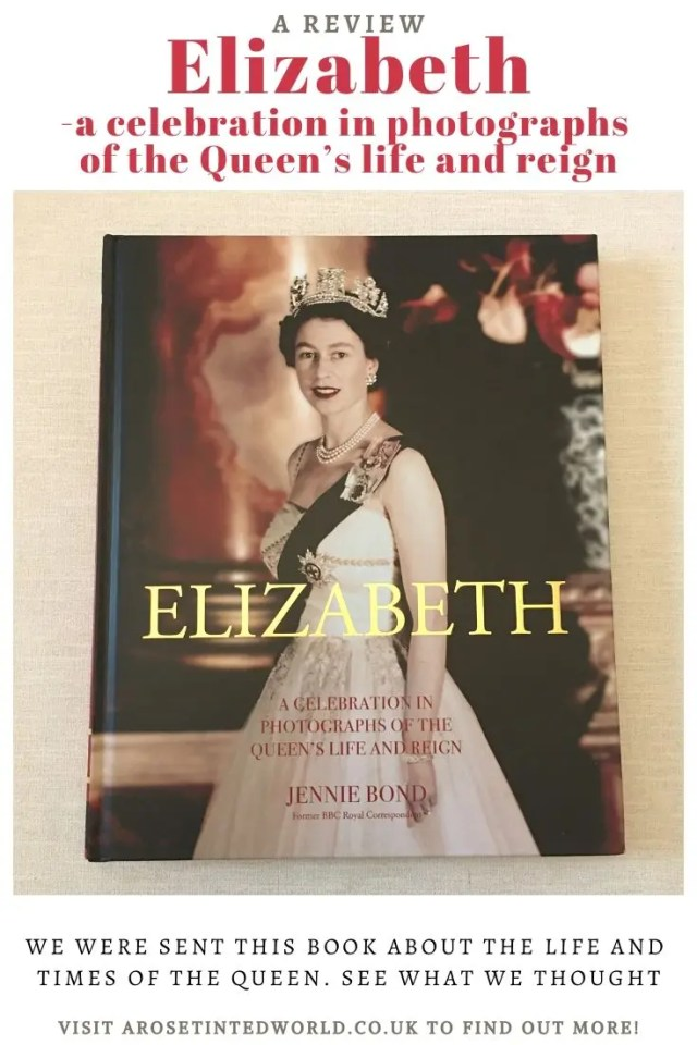 Queen Elizabeth II Book Review And Giveaway - we were sent this lovely book about the life and reign of the Queen in pictures. See what we thought.