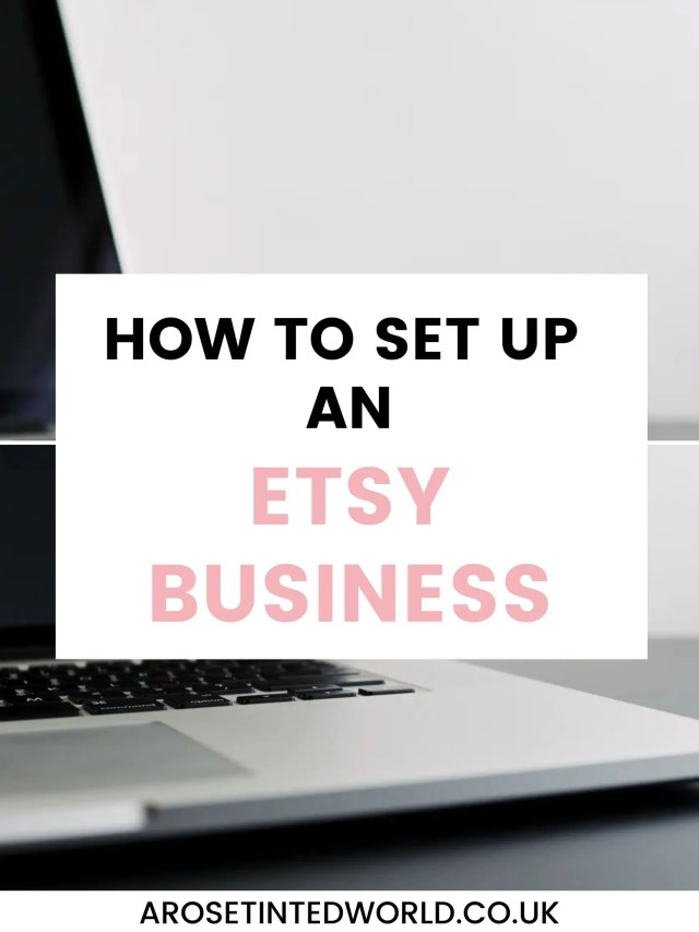How To Set Up An Etsy Business - here are some tips for what you need to do when thinking of setting up selling your handmade goods on Etsy. Starting an Etsy shop may feel overwhelming, but this guide will help you to break up the setting up into manageable chunks. See how to create a great shop for your own hand made goods. Make money online by starting an commerce business. Tips and tricks to avoid some of the pitfalls.