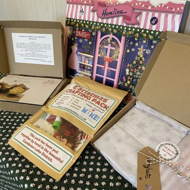 Prize Bundle Of Crafting And Sewing Items