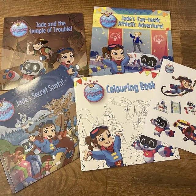 The prize - a set of Not Just A Princess Books