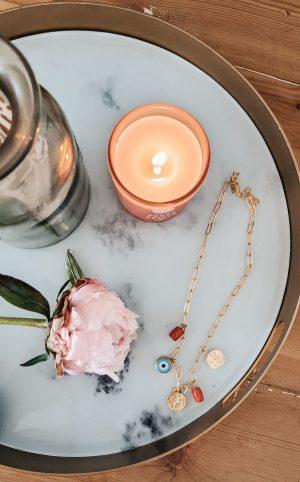 ottoman hands amalfi lapis necklace