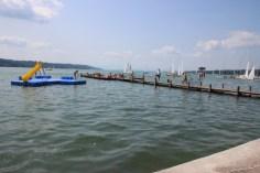 Wasserpark Starnberg-Insel mit Rutsche