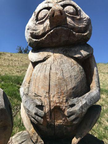 Holzgeisterweg und Familien-Wanderung auf dem Rauschberg