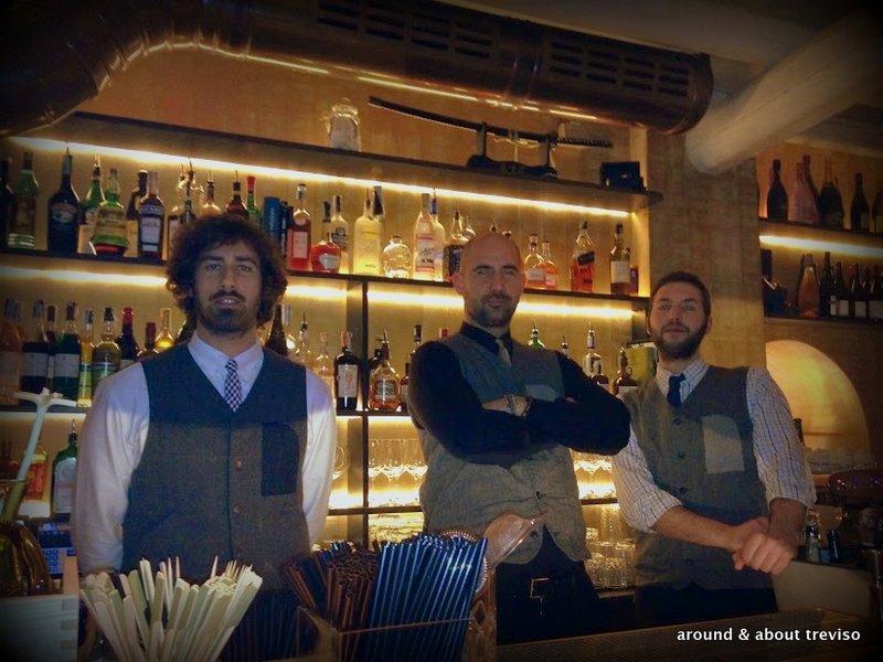enrico & his staff @ henry's bar