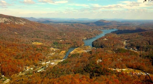 Lake Lure Nc Fall Foliage Report And Fall Events