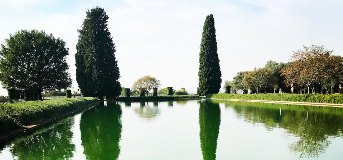 Pecile Villa Adriana Tivoli