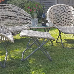 Folding Lounger Footstools - Pair, rattan garden furniture set, Around the garden table, garden gifts, garden accessories, garden centre delivery, plants Kent, plants Northiam, plants maidstone, flowers Kent, flowers delivered Kent, plants, flowers, bedding plants, seasonal bedding, seasonal bedding plants, edible plants, wildlife habitats, compost and mulches Kent, garden furniture, garden furniture Kent, gardening East Sussex, locally delivered garden supplies, contactless delivery, garden supplies with contactless delivery, vegetable seeds, vegetable plants, affordable garden furniture, wholesale garden supplies, bespoke planters, gift planters, garden inspiration, heart and soul gardening, #thechickenknows, Pop-Up Garden Boutique, free local delivery plants, free local delivery garden gifts, free local delivery garden accessories