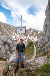 Carlo am Gatterl, deutsch österreichische Grenze