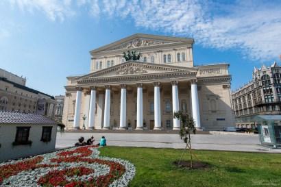Theater in Moskau