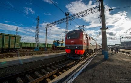 Transibirische Eisenbahn