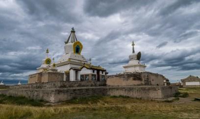 Goldene Stupa in Klosteranlage Erdene Dsuu