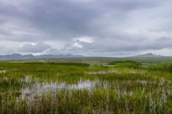 Landschaft in der Mongolei
