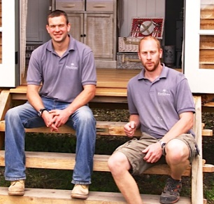 Hut builders: William & George