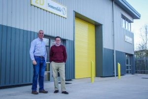 Stephen Jones (L) Ernie Waldron (R) Directors and Co founders of Somerdale International