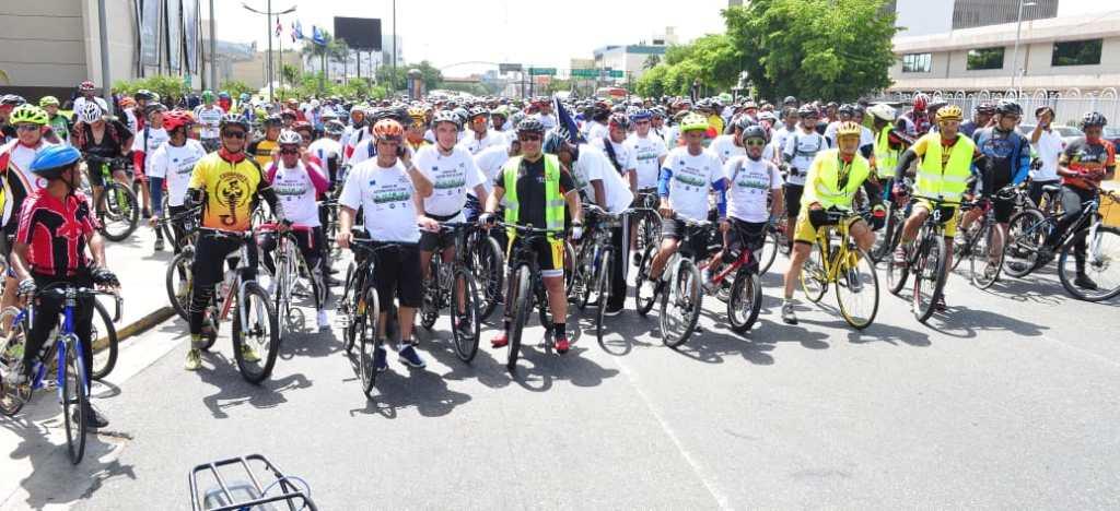 3ra bicicletada de la Unión Europea en la República Dominicana