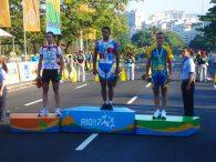 Wendy Cruz podio Rio 2007