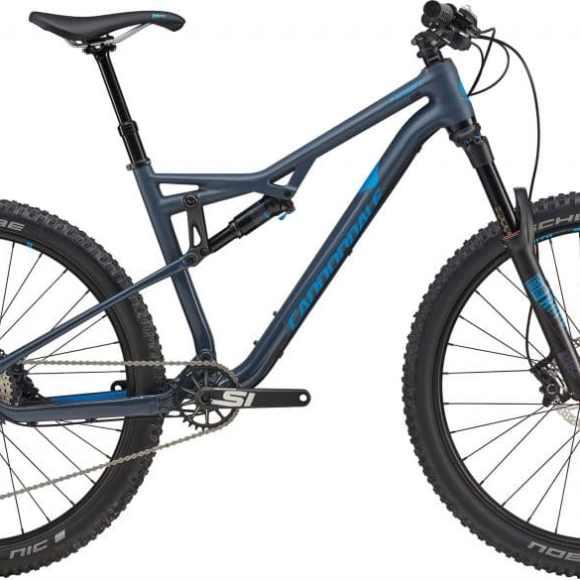 Bicicleta 27.5 Cannondale Habit 3 Carbon Size M gris / azul slate  (93885)