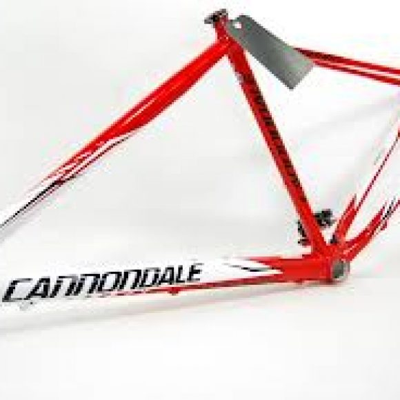 Cuadro 26 Cannondale Flash wt/red size L 4831