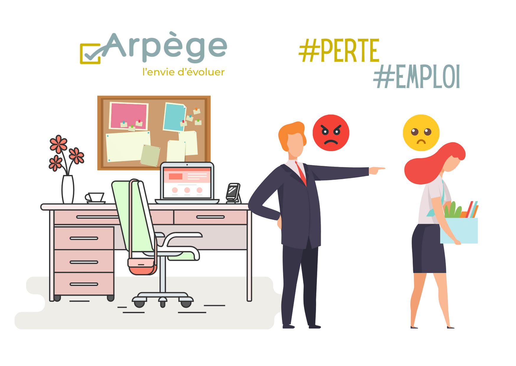 You are currently viewing Newsletter – Perdre son emploi : une peur fréquente ?