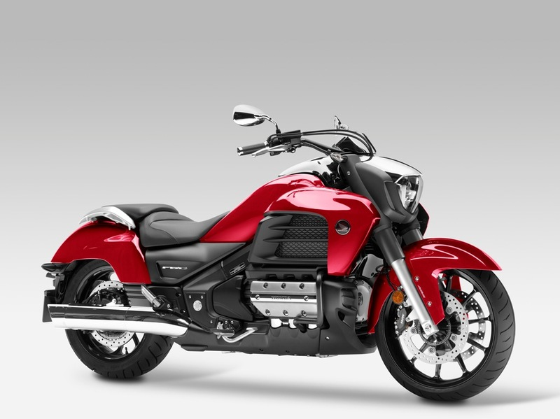 Foto Honda Goldwing F6C 2015