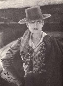 The Mark of Zorro (Il segno di Zorro) di Fred Niblo, con Douglas Fairbanks Sr., Noah Beery, Marguerite De La Motte (Usa 1920, 35mm, 90) California, XIX secolo