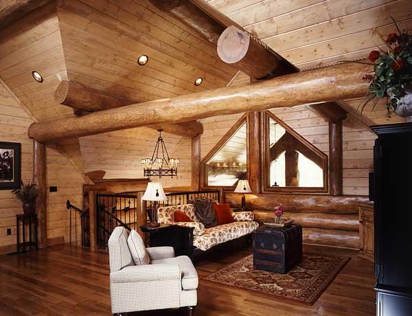 Log Cabin Themed Home Decor