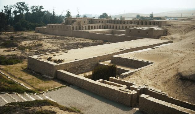 Nuevos hallazgos en el templo de Pachacámac, Lurín
