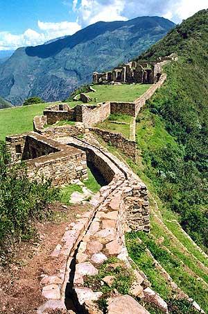Choquequirao, un asentamiento imperial cusqueño del siglo XV en la Amazonía andina