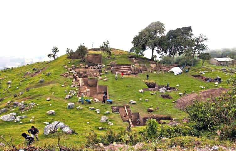 Importante descubrimiento de templo que rinde culto al agua en Cajamarca, Perú