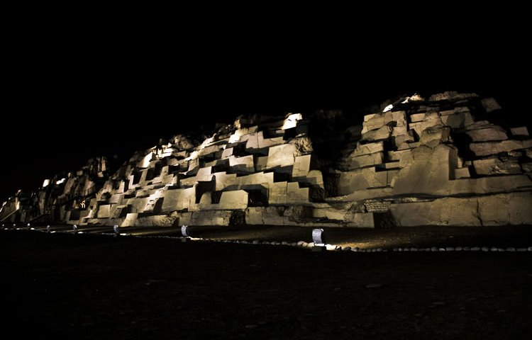 Huaca Mateo Salado, Lima, Perú