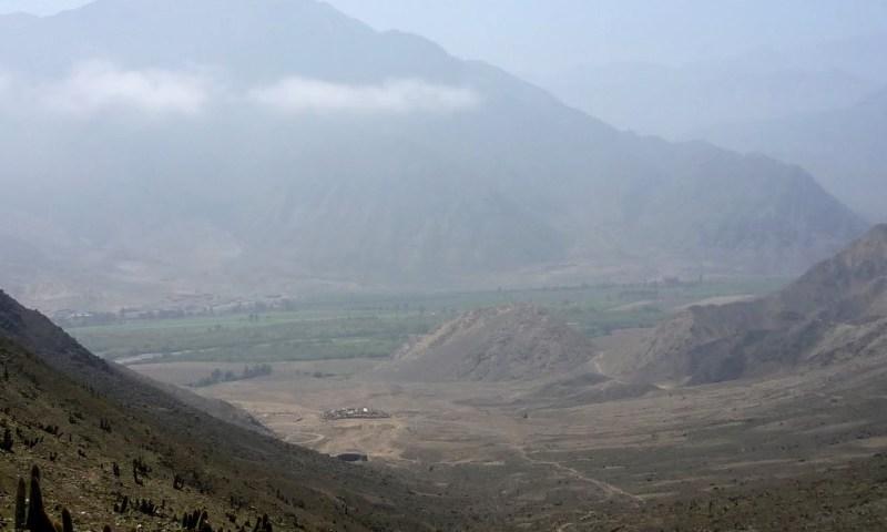 Sitio Arqueológico de Lurihuasi, otro asentamiento de la Zona Capital de la Civilización Caral