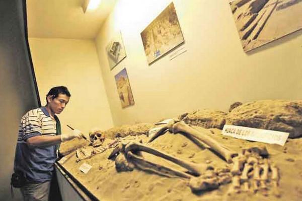 Museo Chotuna inaugura moderno gabinete y almacenes para material arqueológico