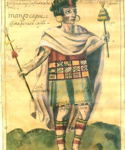 El Imperio inca: origen (histórico, gobierno de Manco Capac)