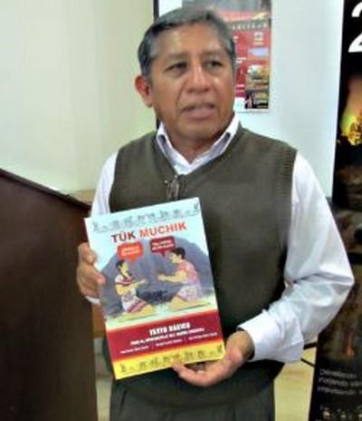 Publican texto básico Tuk Muchik (Idioma Mochica), que permitirá la enseñanza de esta lengua materna