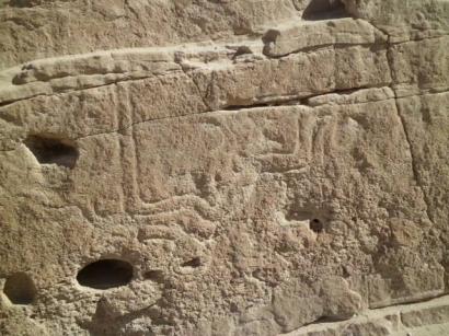 Hallan arte rupestre en Ilabaya, Tacna