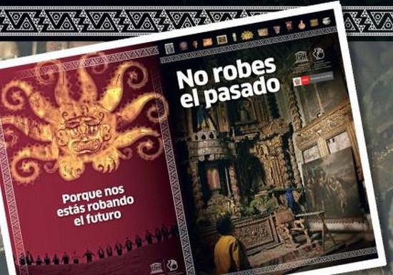 """""""No Robes el Pasado"""", presentan herramienta técnica para la prevención del Tráfico Ilícito de Bienes Culturales"""