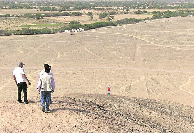 Pondrán en valor zona arqueológica de las pampas de Taruga