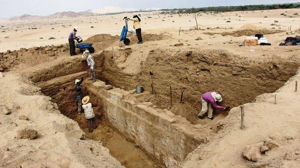 Hallan templo de 1.900 años de antigüedad en complejo arqueológico Mata Indio, Zaña