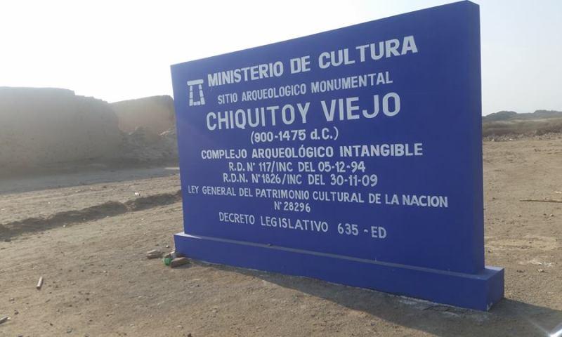 Exigen a empresa paralizar trabajos no autorizados en complejo arqueológico Chiquitoy Viejo
