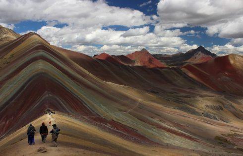 Montana de colores, Montana Arco Iris - Cunicunca, Quispicanchis, Cusco