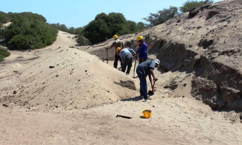 Inician intervención en Huaca Susy del complejo Chotuna-Chornancap