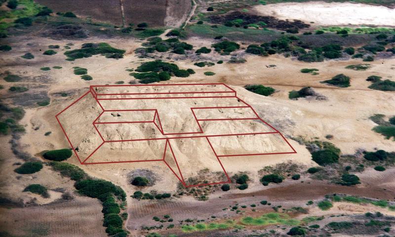 Los niños sin pies en un cementerio chimú-inca en el complejo arqueológico de Chotuna Chornancap
