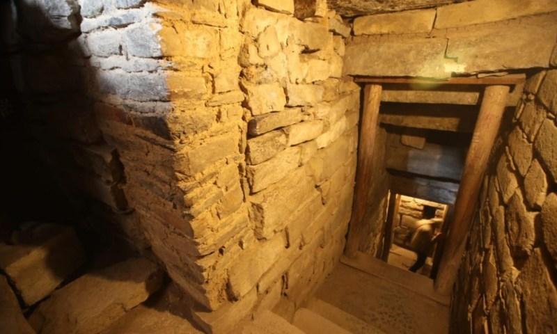 Chavín de Huantar: con alta tecnologia descubren galerías, ceramios y entierros humanos