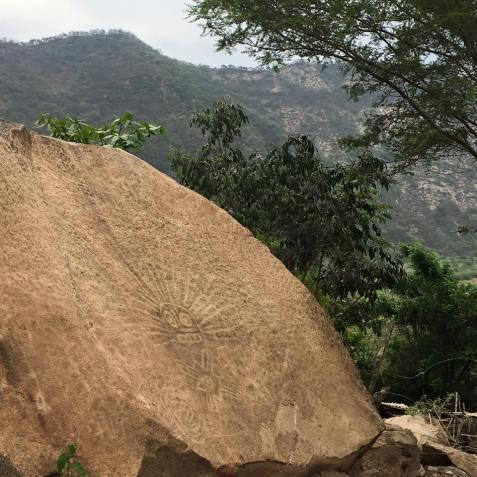 Piedra del Sol de Cumbil Foto: Ignacio Alva Meneses
