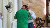 Padre Gilson e Fernando Fava